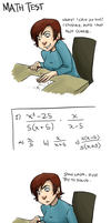 MATH TEST by perfect-tea
