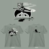 T-Shirt Design-front and back by illufox