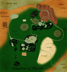 Hyrule Map- English by Astralstonekeeper