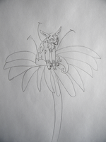 Hatter On The Magic Flower Sketch by The-Lost-Hope