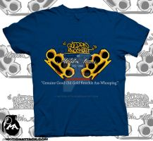 Golden Knockout  Tee by MA by motion-attack