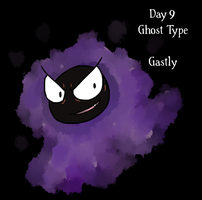 Pokeddexy '13  09/31 Gastly by Sixala