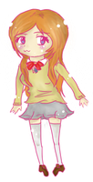 Hime Chibi by BlumberBerrry