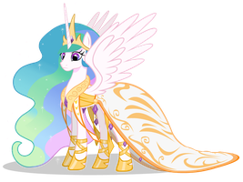 Celestia Gala II by CartoonTiger