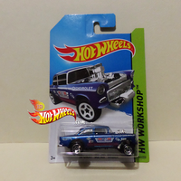 HOT WHEELS 2014 '55 CHEVY BEL AIR GASSER by idhotwheels