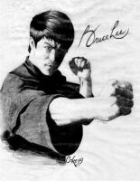 Bruce Lee by Crike99