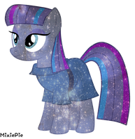 [MLP] Maud Pie Galaxy's Power by MixiePie