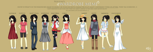 -Wardrobe Meme- by Na-Nami