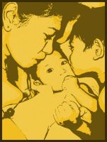 Mother and Sons by chuletz