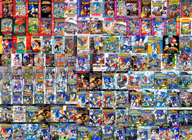 All Sonic Games by sonictoast
