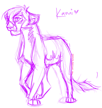 Kamili sketch by casimiria