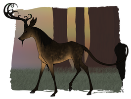 Grimbold | Stag | Soldier-Pending General by EmeraldTheWolf