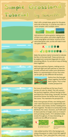 Simple Grassland Tutorial + brush settings by PeachyKat