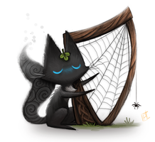 Day 684. Sidhe - Harp Sidhe by Cryptid-Creations