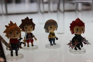 NYCC 2014: Kingdom Heart chibis! by Kitedot