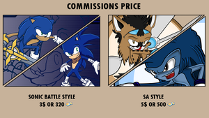 Sonic Commissions Price by Swords-and-Tequila