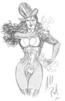 Zatanna pencil by AllPat