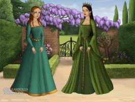 Princess Merida and Queen Elinor by WhisperingWindxx