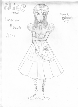 American Mgee's Alice by yoshielectron