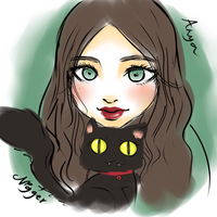 With Our Cat Nigger by anyatagomachii
