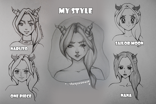Style challenge - inktober by GR-the-queen