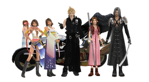 Final Fantasy HD MODEL PACK - UPDATE 1.1 by NipahMMD