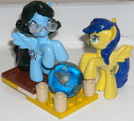 Iomma and Tenyo blind bag customs by Iomma