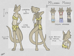 Milanna Ref by Creature71