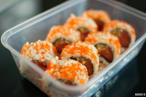 Salmon Crispy Roll by KuroDot