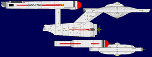 Uss Vixen And Connie Compare by OpenMawProductions