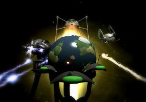 The Earth under the Martians by Cryptdidical