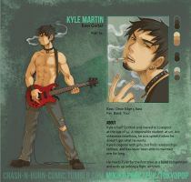 Kyle Martin by Zombiesmile