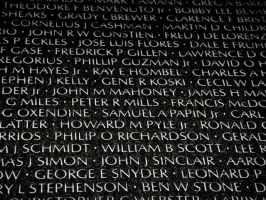 Things from DC: Vietnam Wall by Killbot-Beauty