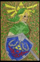 Link Stained Glass by jmascia