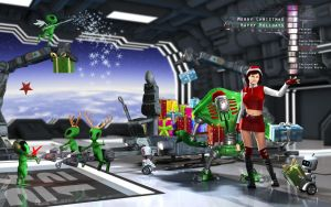 Santas New Crew by Fredy3D