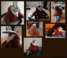 Plushie - Excadrill by Gomis