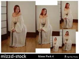 Kiana Pack 4 by mizzd-stock