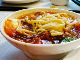 A Special Bowl of Noodles and Soup (IMG 1856) by pickymice