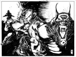 WW vs Zombies / The Cursed and the Damned issue #1 by FrancescoIaquinta