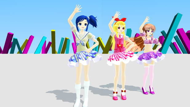 [MMD] Aikatsu! ~Video + DOWNLOAD by Reineru-kun