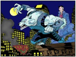 Wolfman Panel - Invincible 48 by InaudibleWhisper