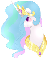 Princess Celestia by Xeella