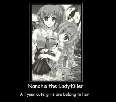Nanoha the Lady Killer by Andarion