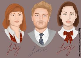 Lily, Louis, Lucy by t-t-l-sis12
