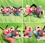 Butterfree Palm Plush by GlacideaDay