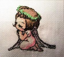 First Cross Stitch by LightHinata