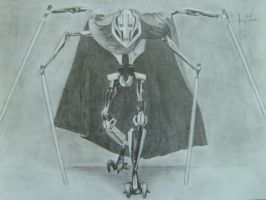 General Grievous by StarWarsJediAmy