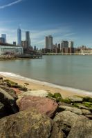 Beach in Brooklyn by philipbrunner
