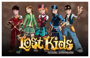 The Lost Kids poster by JoeyVazquez