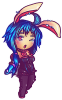 Commission: Chibi Idena by ReenaCat